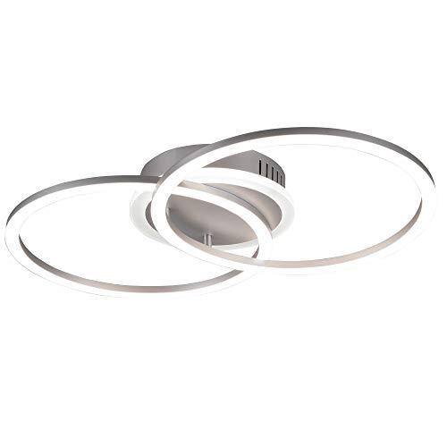 LED Design Decken Lampe Ringe Strahler Leuchte DIMMBAR Wohn Ess Zimmer Beleuchtung Reality R62783187