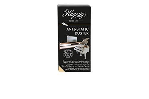 Hagerty Anti Static Duster 1 Stück I Reinigungstücher zur Pflege empfindlicher Oberflächen 100% Baumwolle I Staubtuch antistatisch als Glanz-Finish I Schutz vor Staubablagerungen I 36x55 cm