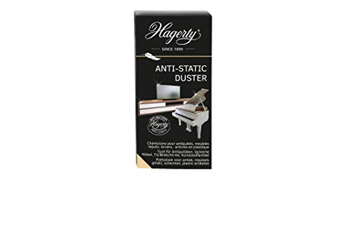 Hagerty Anti Static Duster 12 Stk I Reinigungstücher zur Pflege empfindlicher Oberflächen 100{1c7634c0dc6edd1f2f314b2cb26143f19f9ab98c4cf7c128d37f79fbf9fd253d} Baumwolle I Staubtuch antistatisch als Glanz-Finish I Schutz vor Staubablagerungen I 36x55 cm