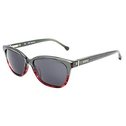Loewe SLWA23M5206B8 Gafas, BICOLOUR RED, 52x17x140 para Mujer