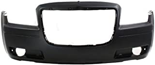CPP Primed Front Bumper Cover Replacement for 2005-2010 Chrysler 300