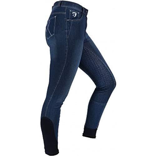 Horka Reithose Roma Jeans Silikon Fullgrip | Jeans Blue | Gr. 164