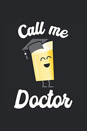 Kalender 2021 Doktor Prüfung: Jahreskalender 2021 Doktorand als Geschenk-idee für Doktoren mit Bier Motiv mit Doktorhut / DIN A5 - 6x9 Zoll 120 Seiten / Terminkalender zum bestandenen Doktortitel