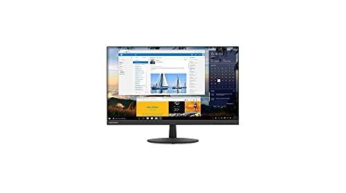 Lenovo L27q-30 68,58 cm (27 Zoll, 2560x1440, WQHD, IPS, matt) Monitor (HDMI, DisplayPort, 4ms Reaktionszeit) schwarz