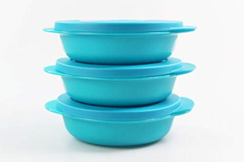 Turchese Contenitore per Il Pranzo per Bambine Colore Tupperware to Go Twin