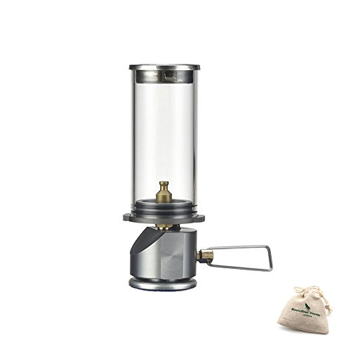 BRS Mini Portable hangende Kerze Lampe Outdoor winddichte Gas Kerze Lichter Camping Gas Beleuchtung