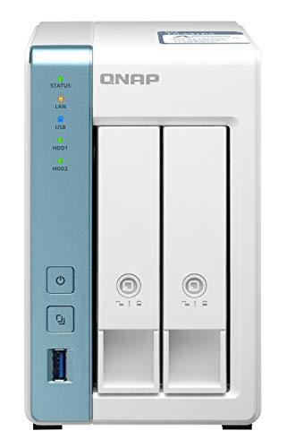 QNAP - 2-bay Nas TS-231P3-4G 4GB RAM