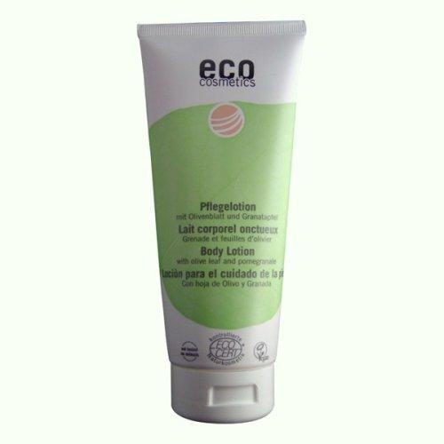 Eco Cosmetics Lait corporel onctueux Grenade et Feuilles d'Olivier 200ml