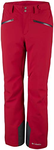 Columbia Men Snow Pants Snow Freak, Größe:XS/Regular, Farbe:Red Spark