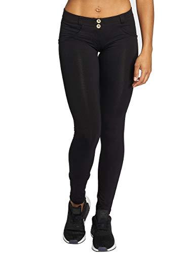 WR.UP® Skinny Taille Basse en Coton élastique - Black - Large
