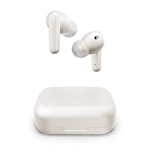 Urbanista London True Wireless In Ear Kopfhörer Noise Cancelling Kopfhörer, 25h Laufzeit, Hi-Fi Stereo So&, Bluetooth 5.0, Integriertes Mikrofon, Kompatibel Android & iOS - Weiß