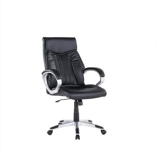 Triumph bureaustoel, kunstleer, zwart