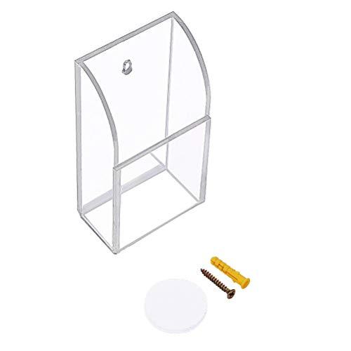 Wall Mount Remote Control Holder Multipurpose Storage Box