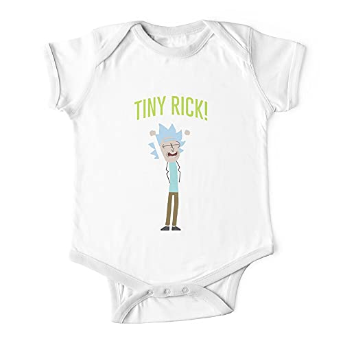 Tiny Rick Baby Onesie Outfit Bodysuits One-Piece