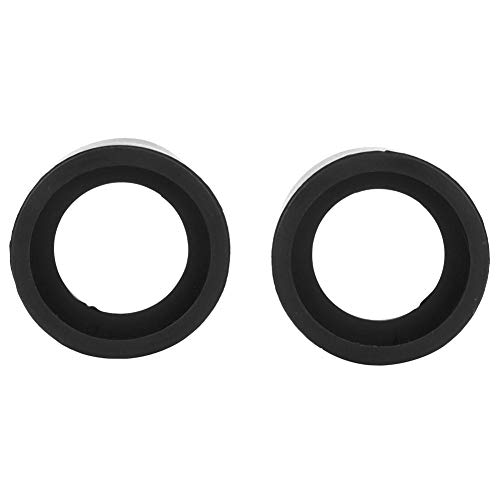 2Pcs Rubber Eyepiece Cover Accessory Guards Eyeshields Telescope Protector Rubber Eyecups with 36mm Diameter for Stereo Microscope (KP-H2 Flat Angle)
