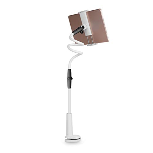 ZKHD Cell Phone Holder, Tablet Holder Stand Universal Phone Stand, Lazy Bracket, DIY Free Rotating Gooseneck Mounts with Multiple Function,Black