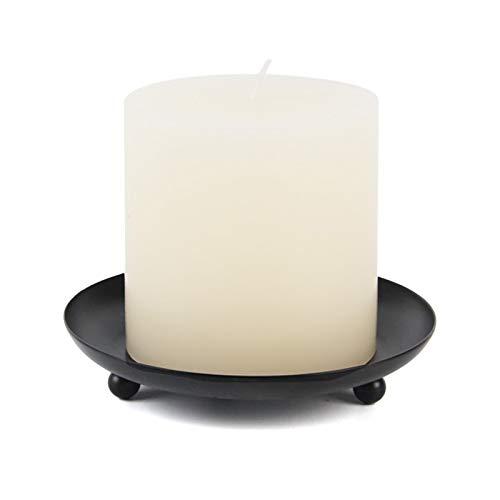 goneryisour Schmiedeeiserner Kerzenhalter Kerzenständer Basis Schreibtisch Hochzeit Party Home Dekoration