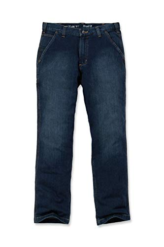 Carhartt Mens Rugged Flex Relaxed Dungaree Jeans, Superior, W34/L36