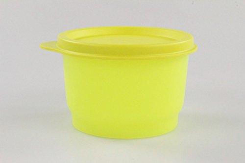 TUPPERWARE kinderen bont 120 ml NEON geel (1) doos dozen container P 18520
