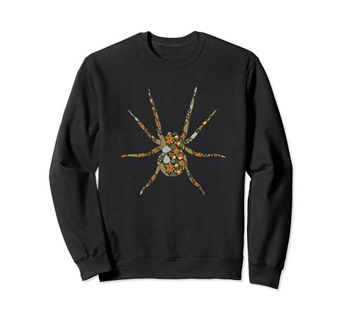 Spinne Spinnennetz Terrarium Arachnologie - Haustier Spinne Sweatshirt