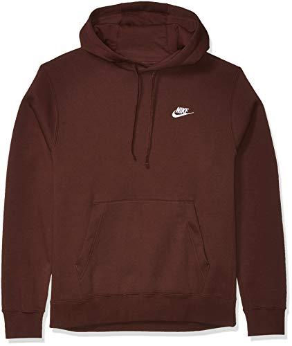 Nike Men's Sportswear Club Pullover Hoodie, Soft Hoodie for Men with Kangaroo Pocket, El Dorado/El Dorado/White, 4X-Large