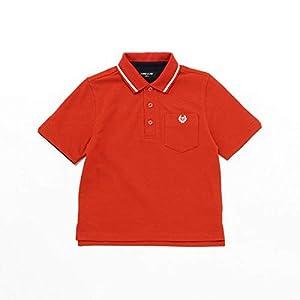 (コムサ イズム) COMME CA ISM ベーシック 鹿の子 半袖ポロシャツ 98-60CP11-200 140cm レッド