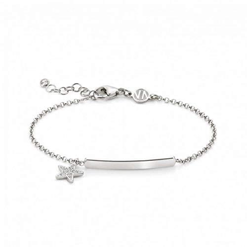 Nomination 146233/003 Gioie - Pulsera de plata de ley, diseño de estrella