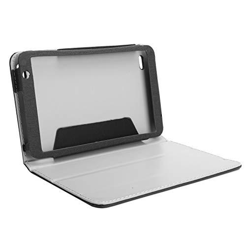 Houinmru Funda de Cuero para Tableta, Carcasa de Tableta para Carcasa de computadora Tableta Teclast P80X(Black)