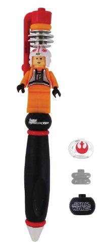 LEGO - Bolígrafo, diseño con Luke Skywalker de Star Wars