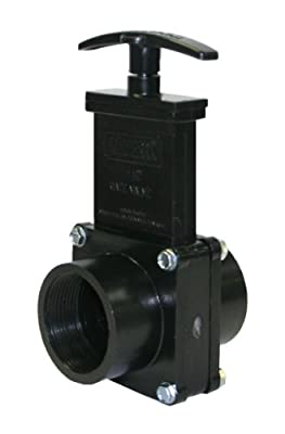 "Valterra 7107 ABS Gate Valve, Black, 1-1/2"" FPT from Valterra Products"