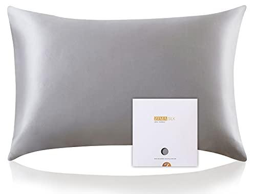 ZIMASILK 100% Mulberry Silk Pillowcase for Hair...