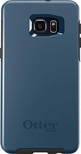 OtterBox SYMMETRY SERIES Case for Samsung Galaxy S6 EDGE+ - Retail Packaging - CITY BLUE (DARK DEEP WATER BLUE/SLATE GREY)