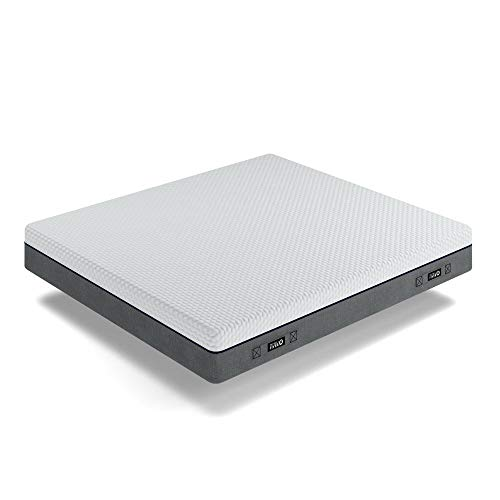 Mobili Fiver, Colchòn matrimonial 160x190 cm, Dario, Latex/de Espuma de Memoria/Base Foam