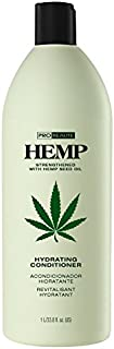 Hemp Hydrating Conditioner Liter, with Hemp Seed Oil, Color-Safe, 33.8-Ounce
