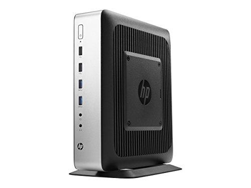 HP V2V44UT#ABA T730, Thin Client, Tower, 8 GB Ram, 64 GB Flash, AMD Radeon HD, Black/Silver