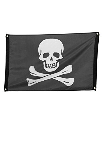 Drapeau de crâne de Pirate grande Jolly Roger
