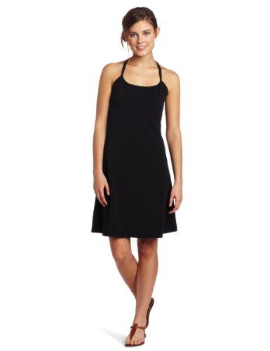 Big Sale prAna Women's Quinn Dress (Black, Large)