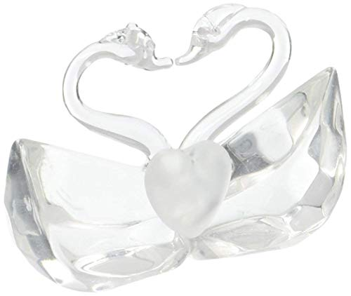 Choice Crystal Collection kissing swan wedding favors, 14