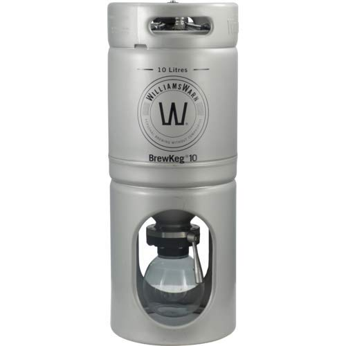 WilliamsWarn BrewKeg10 - 10 L (2.64 Gallon) Conical Unitank Fermenter