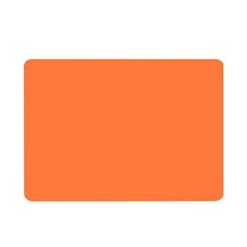 TONVER Soporte de silicona antideslizante resistente al calor para manteles individuales, utensilios de cocina, color naranja, 40 x 30 cm, Naranja, 40*30cm