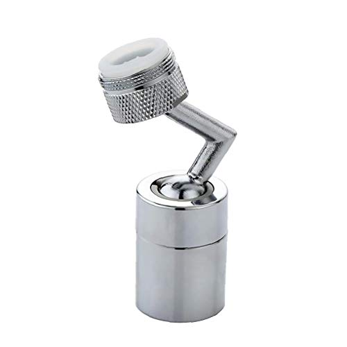 Adaptador 720 ° rotativo Universal Splash Filtro Grifo Extender Anti-Splash Grifo Pulverizador Head, Grifo Alargado