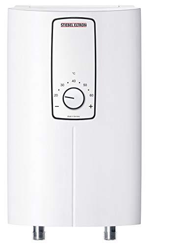 STIEBEL ELTRON elektronisch geregelter Kompakt-Durchlauferhitzer, DCE 11/13 H, wählbare Leis 11 oder 13,5 kW, Küchenspüle übertisch, 232792