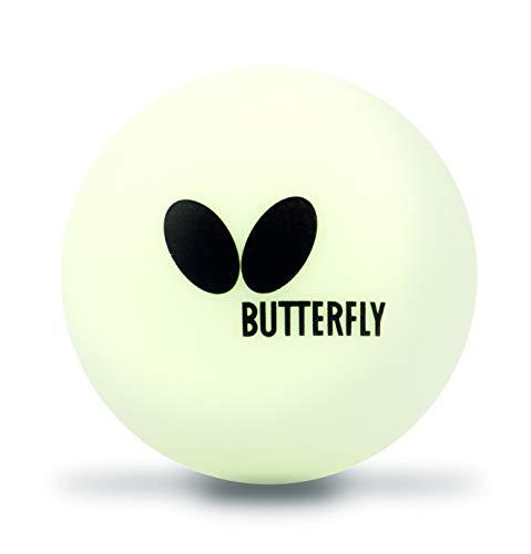 Butterfly 40mm Easy Ball 6PK Pelotas Tenis Mesa, Blanco