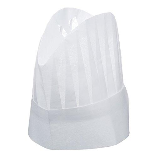 Black Pixnor/® Kitchen Restaurant Chefs Cap Hat Chefs Hat For Restaurant Kitchen BBQ champi/ñon Style