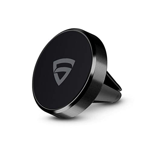 RAEGR Universal Magnetic Air Vent Car Mount Magnetic Holder (MM10) / Air Vent Car Phone Holder with Powerful Neodymium Magnets Compatible with All Smartphones - Black RG10068