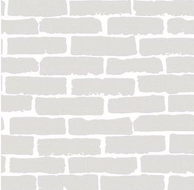 Tkopainsde Mur De Brique en Brique De Papier_ Brick Wall Paper 3D Boutiques Et Salon De Coiffure Salon Restaurant Et Bar Café 100X,1001 Blanc Brillant