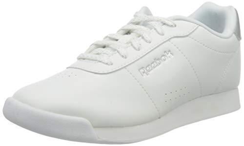 Reebok Royal Charm, Zapatillas de Deporte Interior Mujer, Blanco (White/Silver Metallic 000), 39 EU