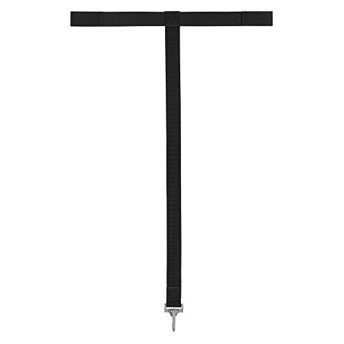 Maclaren Carry Stap - la Sangle Offre une Main Supplémentaire pour Vous Aider à Transporter le Buggy Convient aux Poussettes Volo, Globetrotter, Triumph et Quest Disponible En Noir