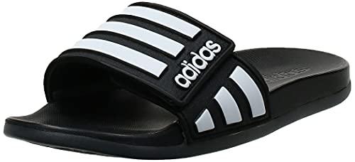 adidas Adilette Comfort ADJ Fußballschuh, Negbás/Ftwbla/Grisei, 40.5 EU