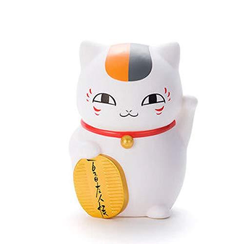 Libro de Amigos Modelo de animación, Modelo Maestro Estatua de Gato, Servicio de decoración, de 15 cm de Natsume